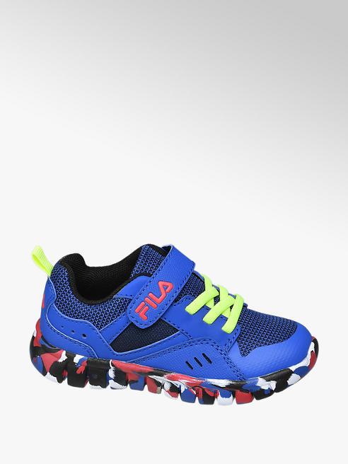 Fila Blauwe lightweight sneaker klittenband