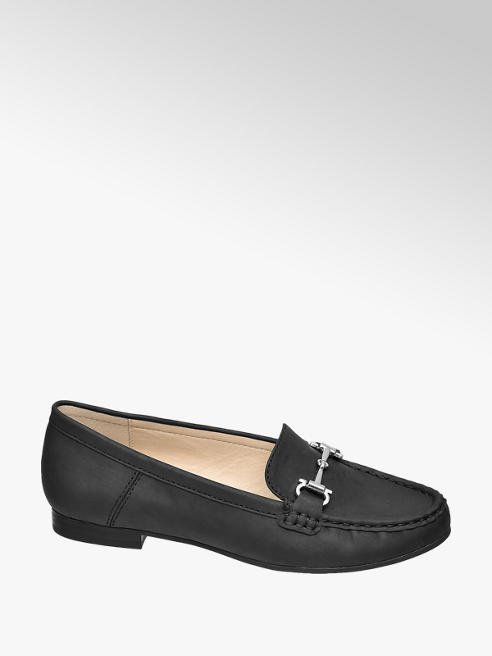 Easy Street Zwarte loafer comfort