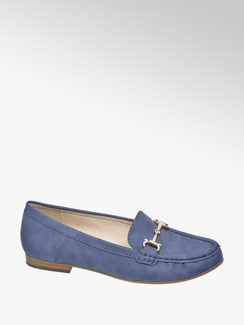 Easy Street Blauwe loafer