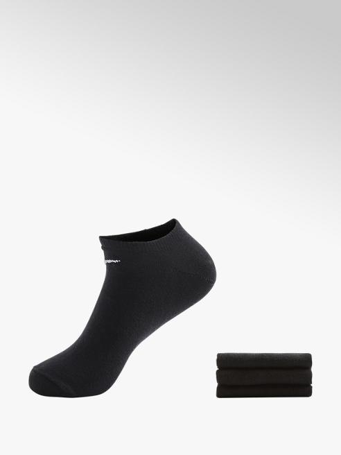 NIKE Спортни черни къси чорапи NIKE