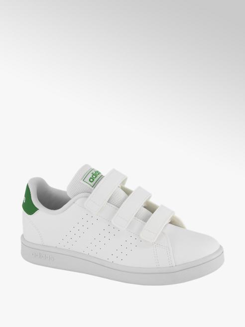 adidas Witte Advantage klittenband