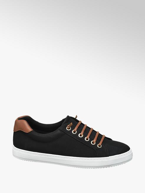 Vty Zwarte sneaker slip on