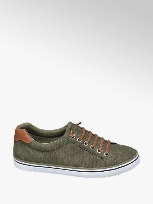 Vty Groene sneaker slip on