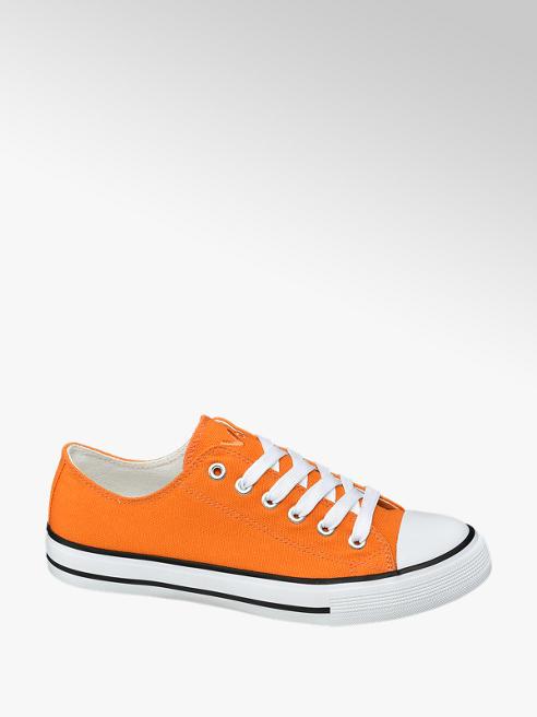 Vty Oranje canvas sneaker