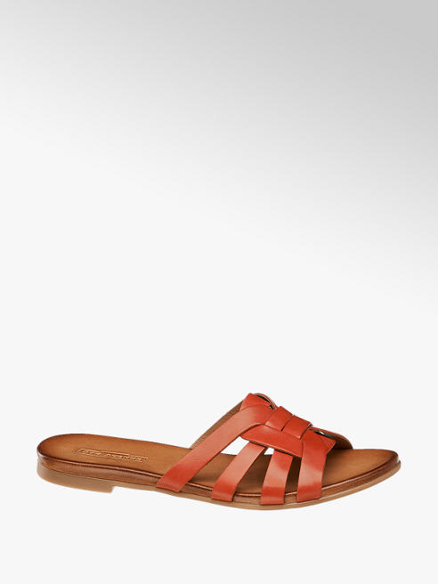 5th Avenue Chinelo de pele