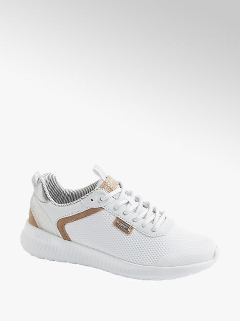 Esprit Witte sneaker metallic