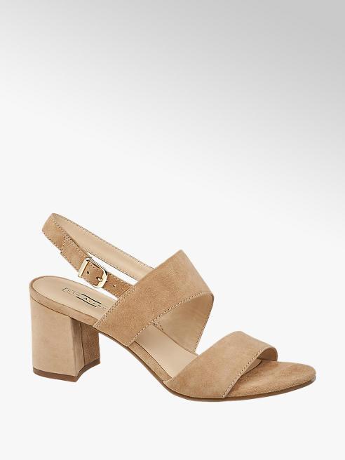 5th Avenue Beige suède sandalette