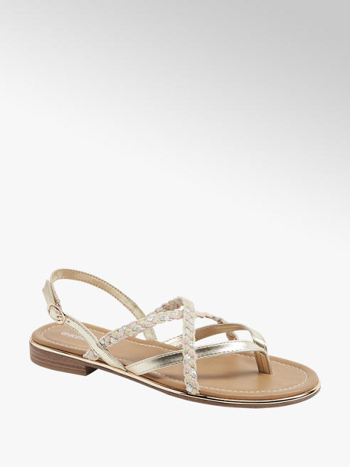 Graceland Gouden sandaal