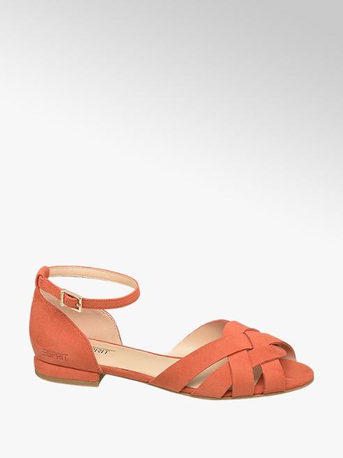 Esprit Donkeroranje sandaal