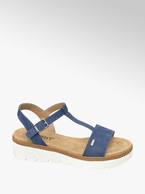 Esprit Blauwe sandaal
