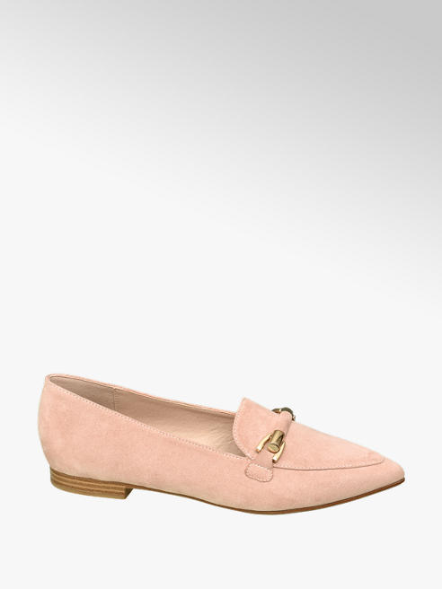 Graceland Loafer rosa a punta