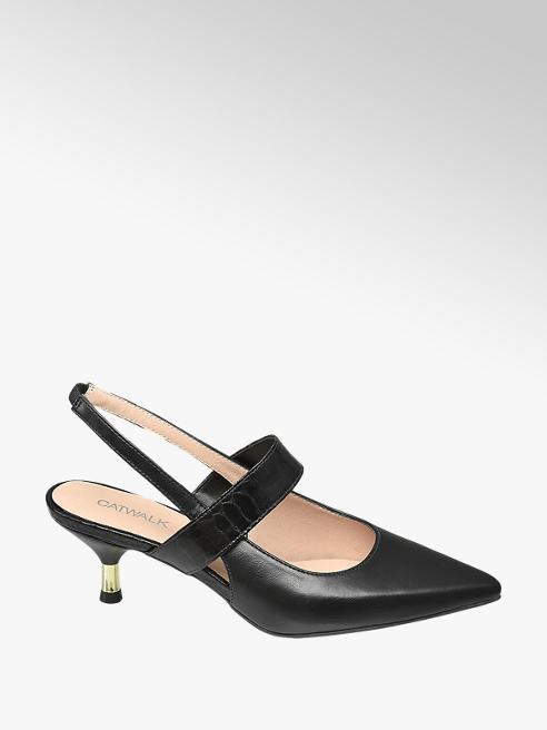 Catwalk Slingback Pumps