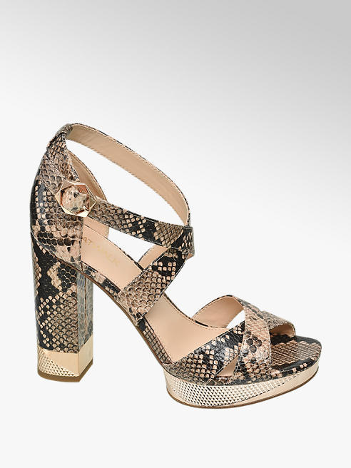 Catwalk Sandalo animalier