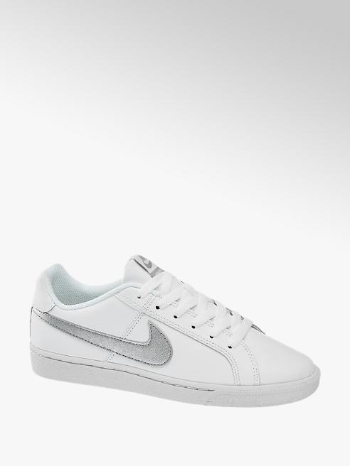 NIKE białe sneakersy damskie Nike Court Royale ze srebrnym logo