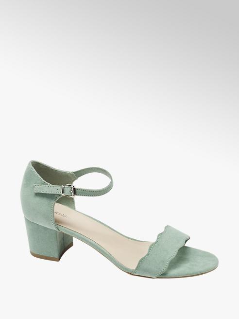 Graceland Mint sandalette