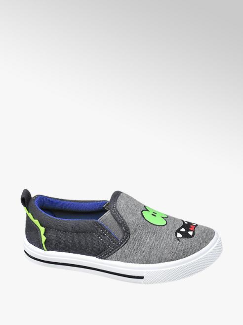 Bobbi-Shoes Grijze slip-on