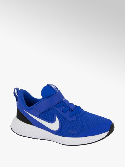 Nike Blauwe Revolution 5 klittenband