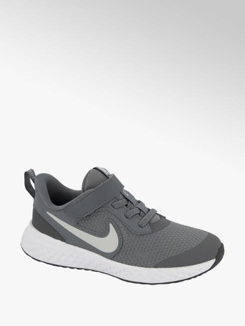 Nike Grijze Revolution 5 klittenband
