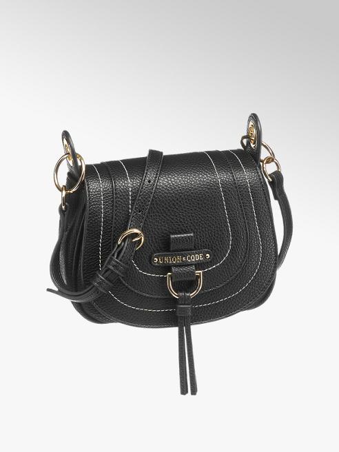 mała torebka damska Union Code w kolorze czarnym
