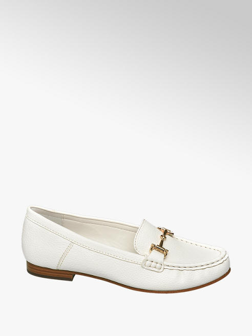 Easy Street Witte loafer comfort