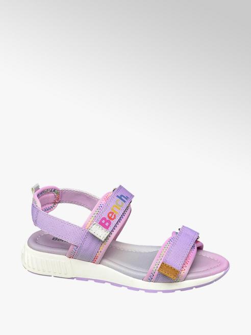 Bench Junior Girls Multi-Coloured Bench Twin Strap Sandals