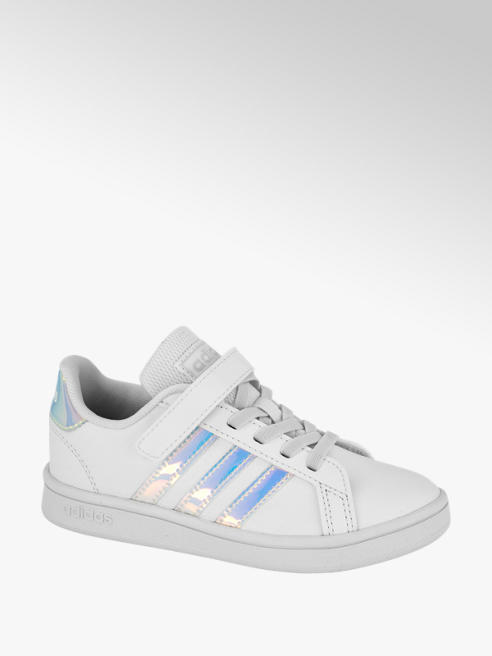 adidas Witte Grand Court velcro