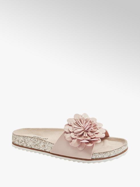 Graceland Chinelo bio com flor