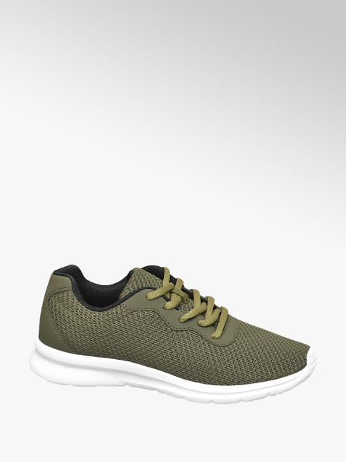 Venice Groene sneaker light weight