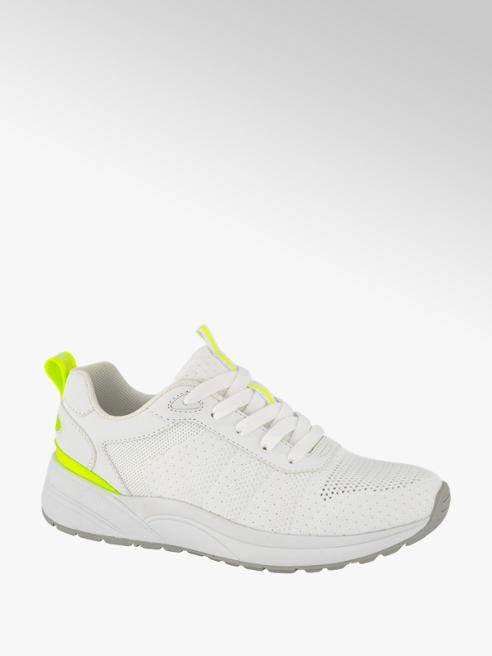 Venice Witte sneaker knitted