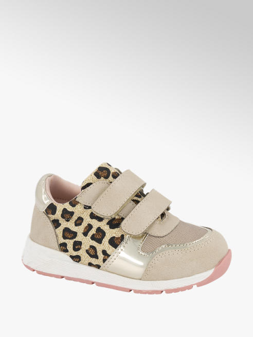 Cupcake Couture Beige sneaker panterprint