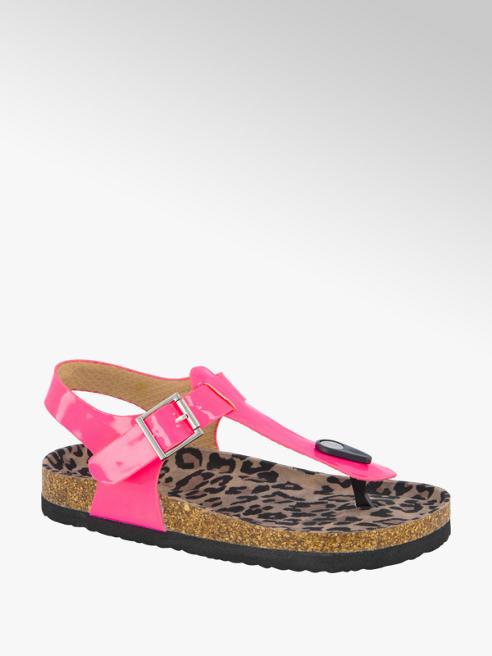 Graceland Roze lak sandaal