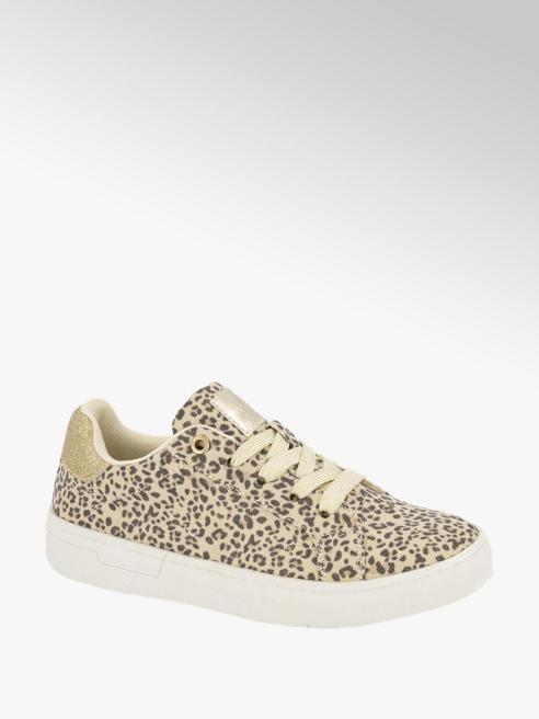 Graceland Beige sneaker panterprint