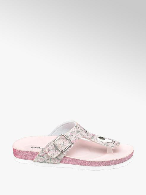 Graceland Roze slipper
