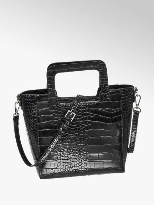 Graceland Håndtaske Reptil-Look