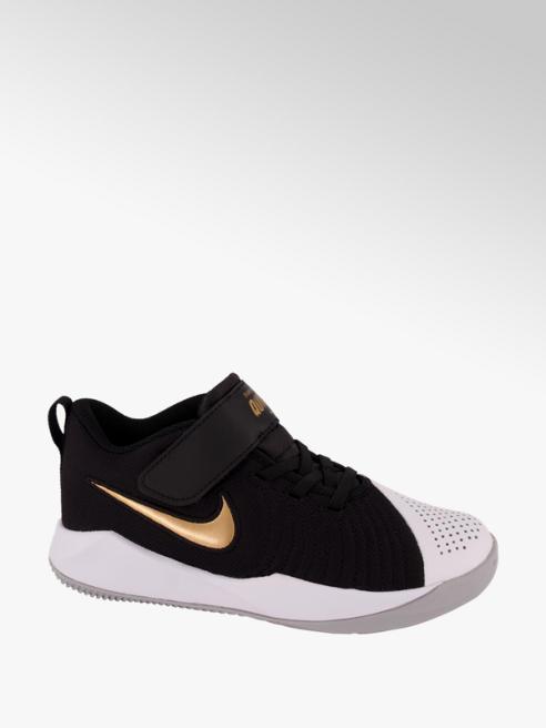 NIKE czarno-białe sneakersy dziecięce Nike Team Hustle Quick
