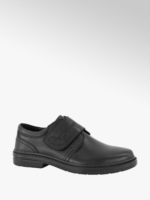 Gallus Zwarte leren geklede schoen