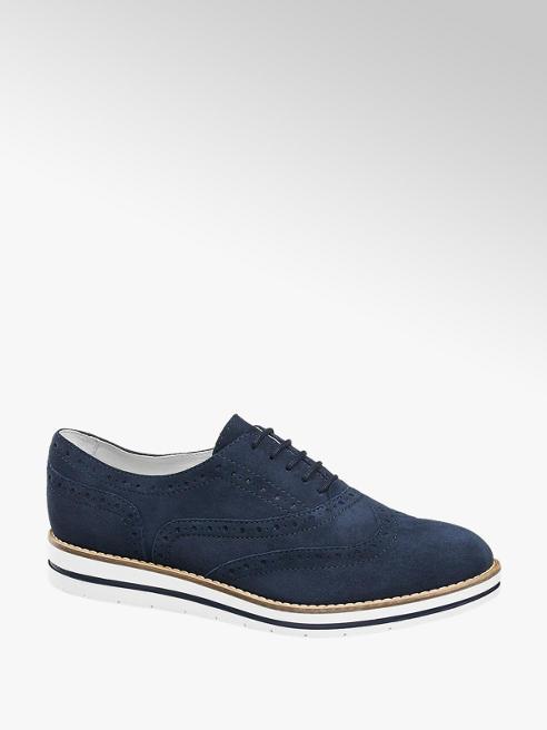 5th Avenue Дамски кожени обувки с връзки 5th Avenue