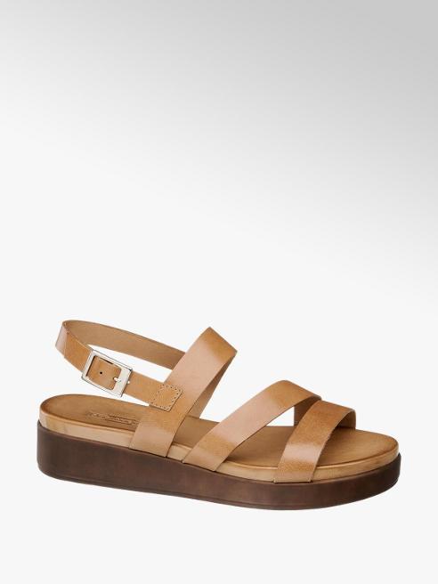 5th Avenue Дамски кожени сандали