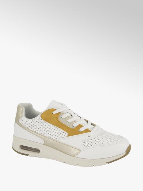 Venice Witte sneaker perforatie