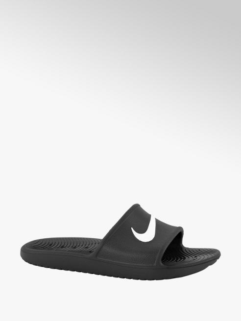 Nike Zwarte kawa slide