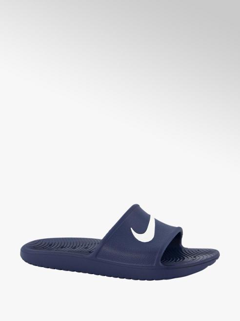 Nike Donkerblauw kawa slide