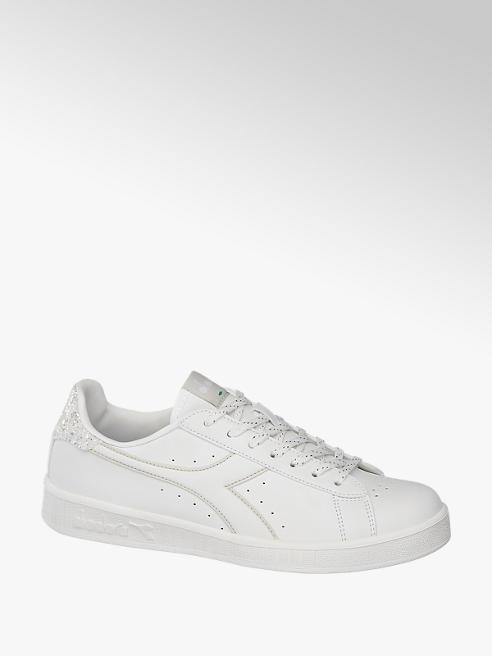 Diadora Witte sneaker glitter