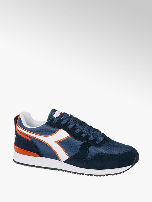 Diadora Donkerblauwe suède sneaker