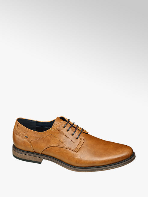 Memphis One Мъжки кефеви официални обувки