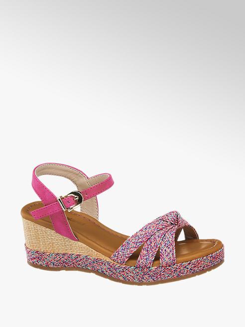 Graceland Детски сандали с клиновиден ток