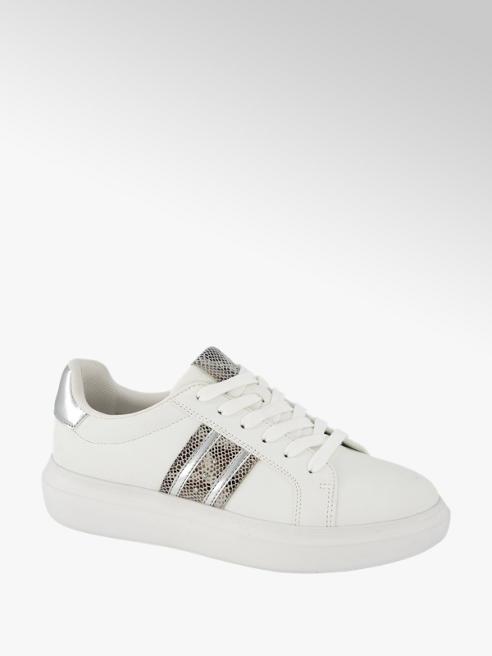 Graceland Witte sneaker platform
