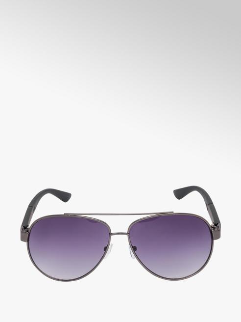 Mens Black Aviator Sunglasses