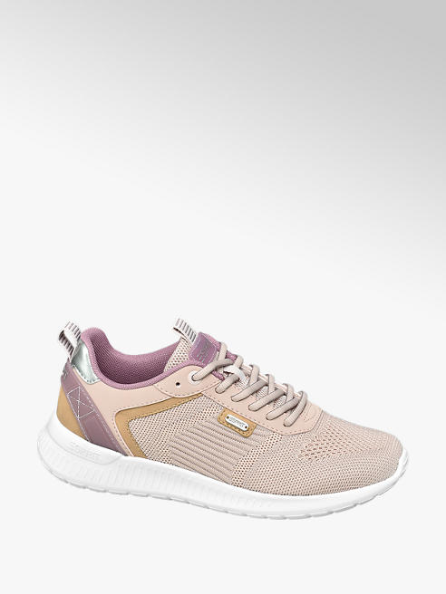 Esprit Roze sneaker metallic