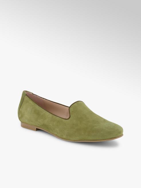 Varese Varese Damen Loafer Grün