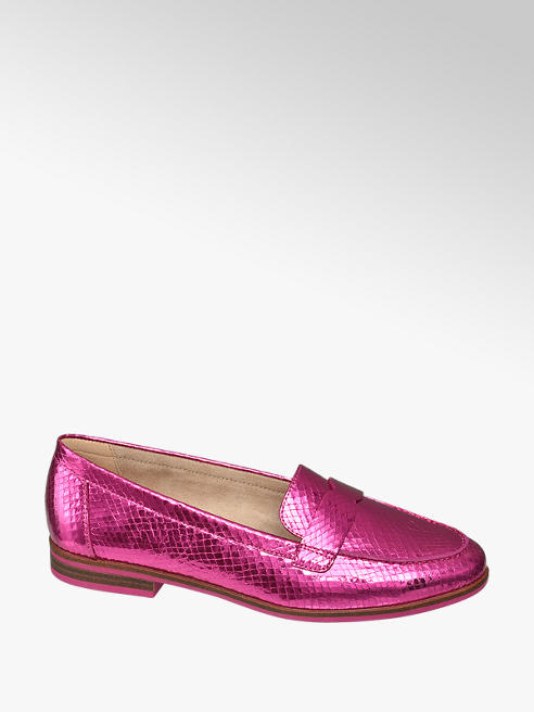 Star Collection Roze loafer metallic
